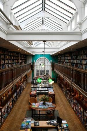 Daunt Bookshop In London, England.