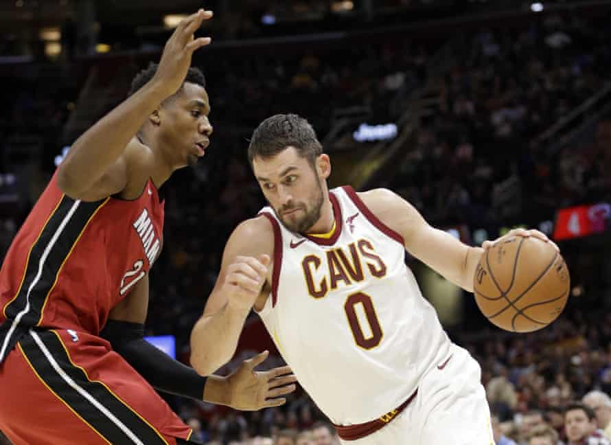 Kevin Love scored 38 points in the Cavaliers' win