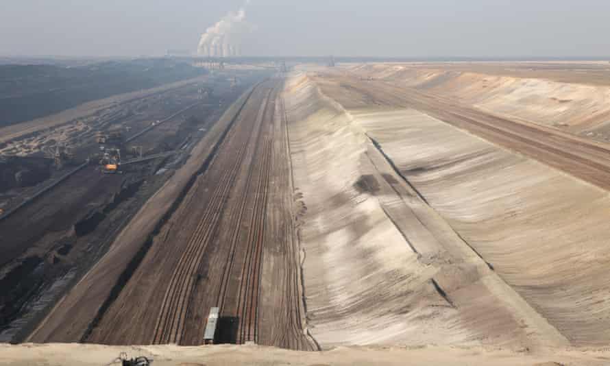 Open-pit mining in Germany