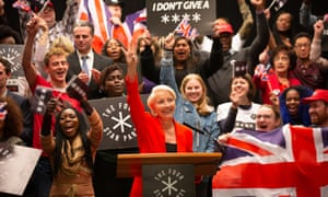 'A slow and insidious rise to populist power' ... Emma Thompson as Viv Rook.