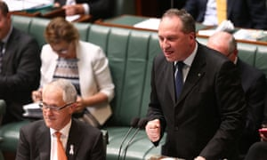 Agriculture minister Barnaby Joyce could burst a valve during QT.