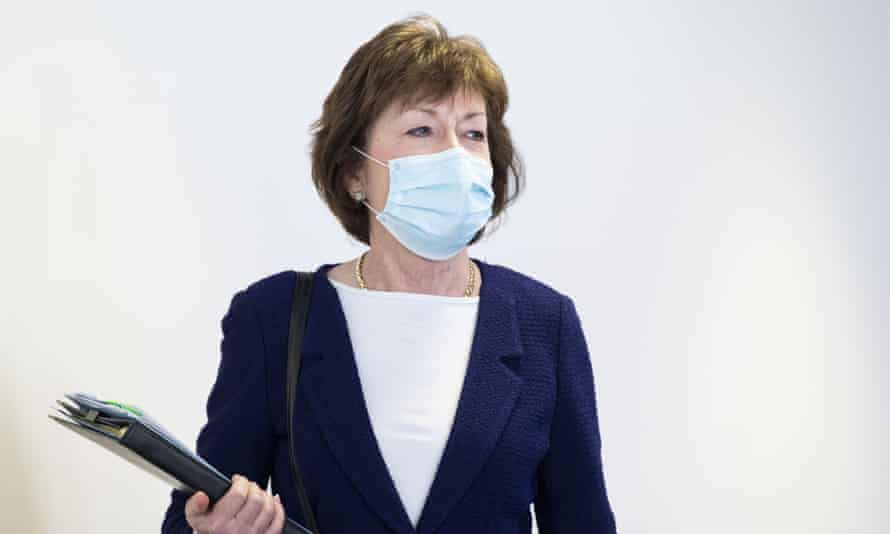 The Republican senator Susan Collins is believed to be vulnerable in Maine.