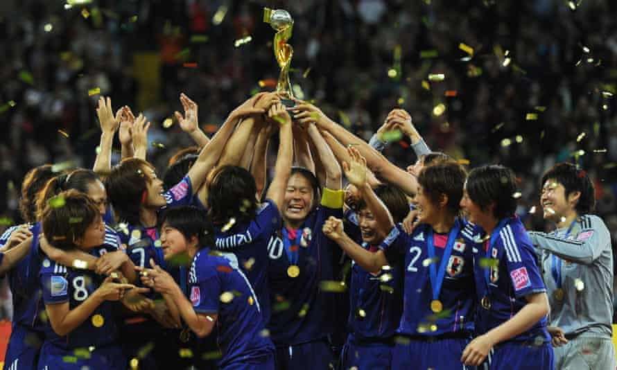 Japan beat USA in the Women's World Cup final in 2011.