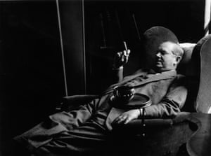 Evelyn Waugh in 1955