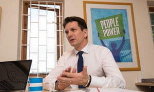 Steve Baker at his office in High Wycombe.