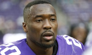 Mackensie Alexander pictured during his time with the Minnesota Vikings in 2018