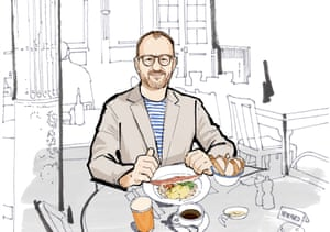 Lunch with Mark Gatiss