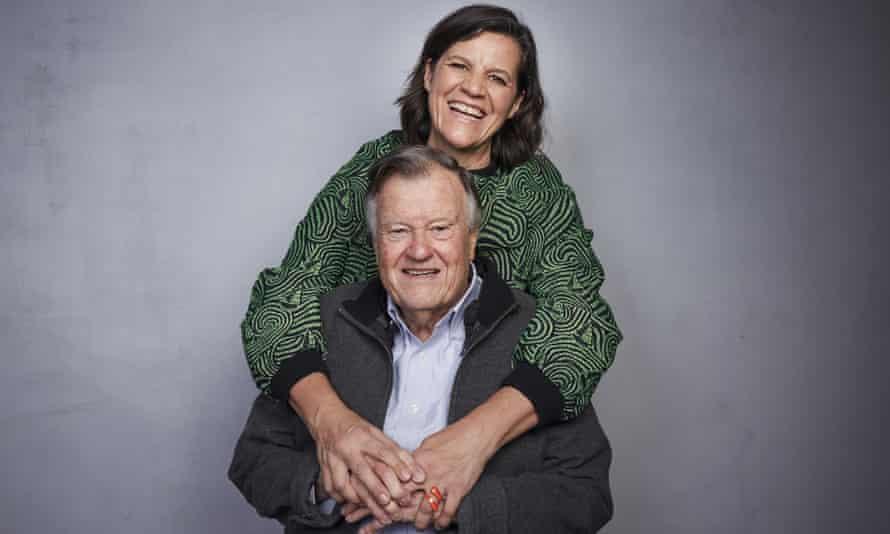 Kirsten Johnson and Dick Johnson at Sundance