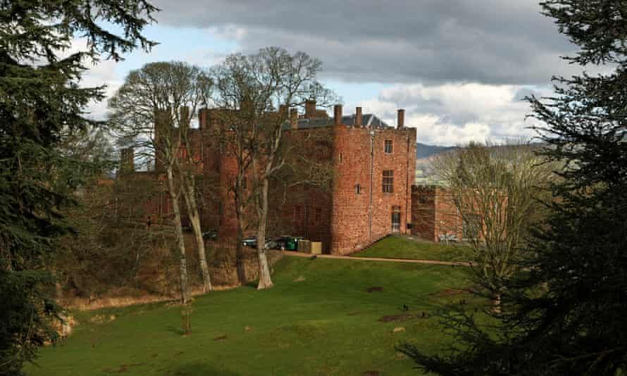 Powis Castle in Welshpool, Powys