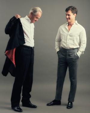 Kristian and Charlie Siem.