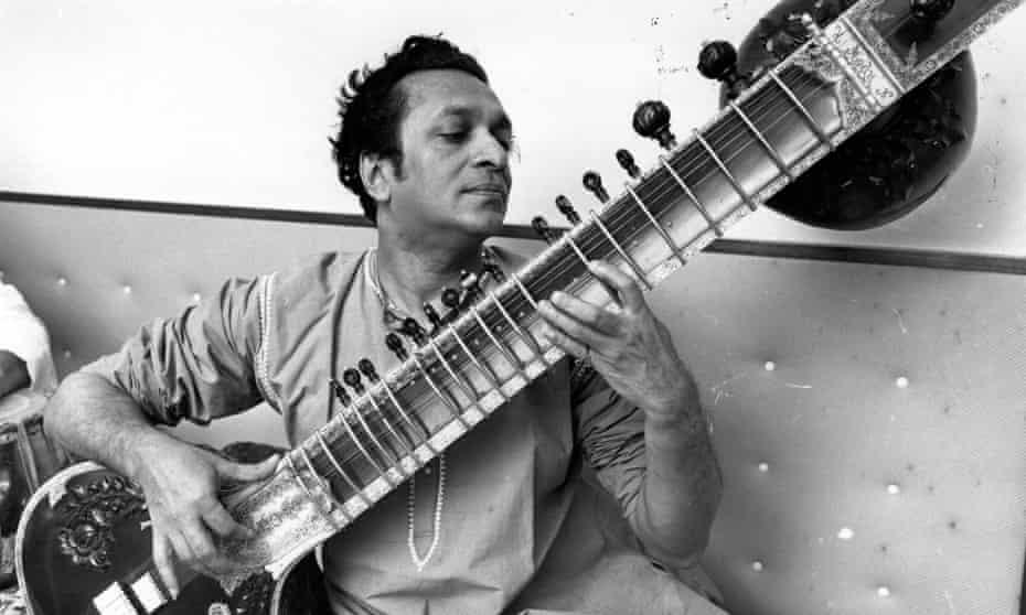 Deeper meaning in his music develops as you listen ... Ravi Shankar.
