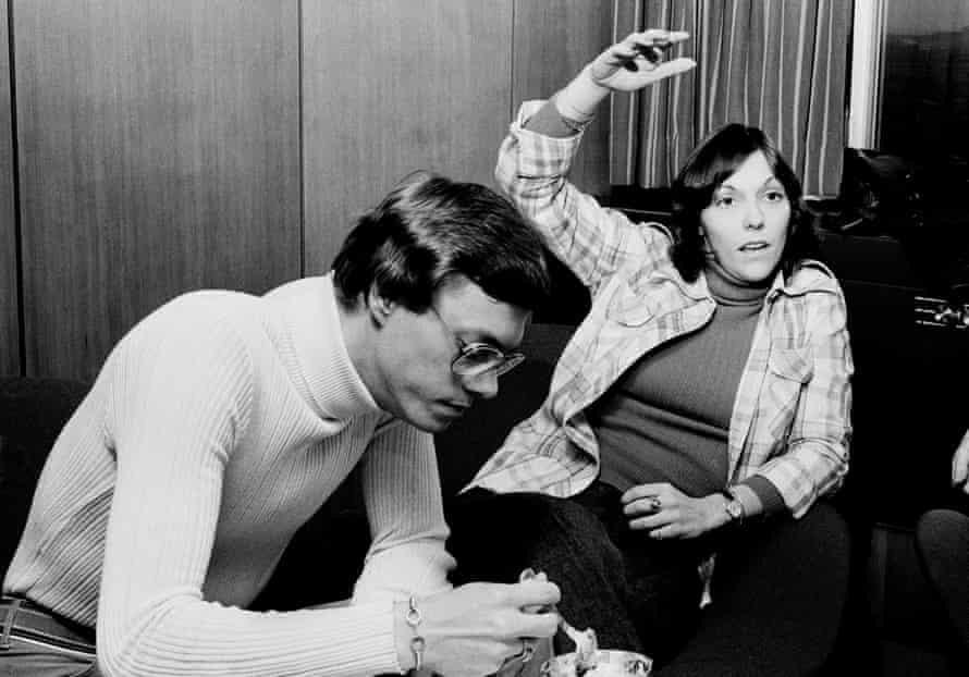 Richard and Karen Carpenter in Copenhagen 1974.