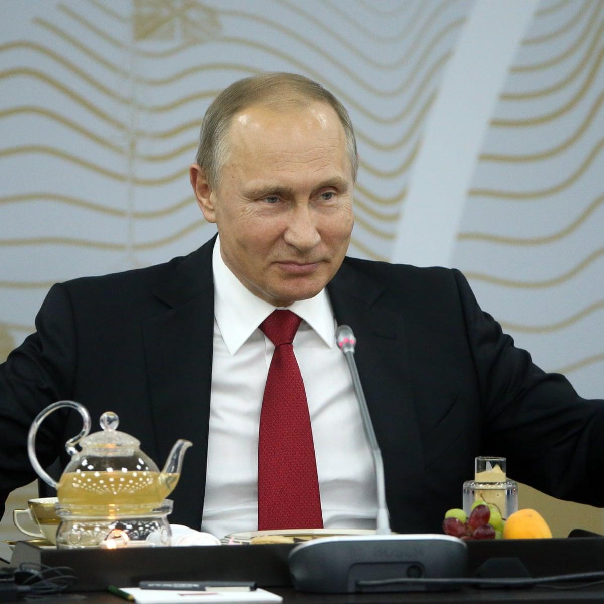 Vladimir Putin I Don T Have Bad Days Because I M Not A Woman Vladimir Putin The Guardian