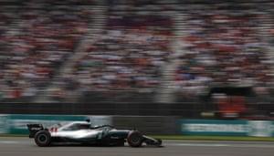 Hamilton, still struggling.