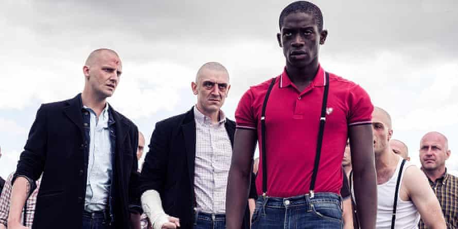 Damson Idris as the teenage Akinnuoye-Agbaje in Farming