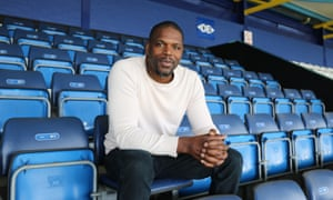 Dr Mark Prince at Loftus Road, which is to be renamed after his son, Kiyan.