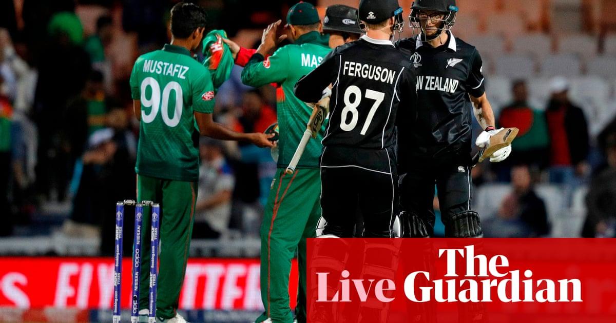 New Zealand beat Bangladesh by two wickets: Cricket World