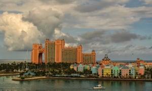 Nassau capital of the Bahamas