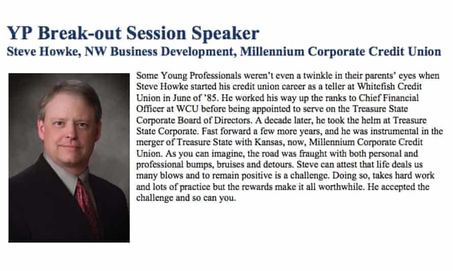 Steve Howke, now a senior adviser in the department.