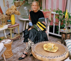 Lucinda Chambers, former British Vogue fashion director, at home in London, August 2018