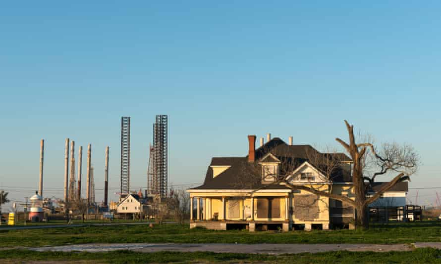 'The Gulf coast is a place already covered in pipelines and storage tanks, but it's now transforming. The scale is overwhelming.'