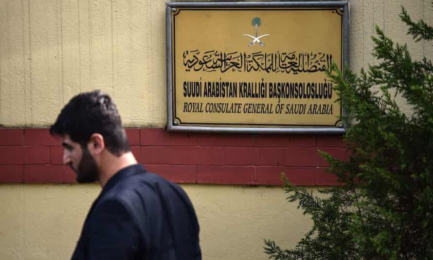 The Saudi Arabian consulate in Istanbul