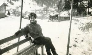 Rose Tremain in Switzerland in 1960.