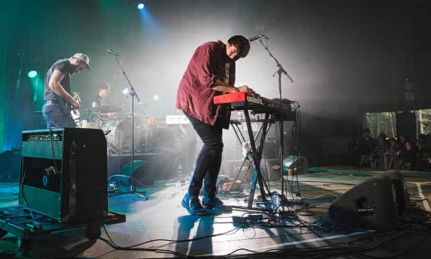 Leeds band Hookworms have supported AIE's latest findings.