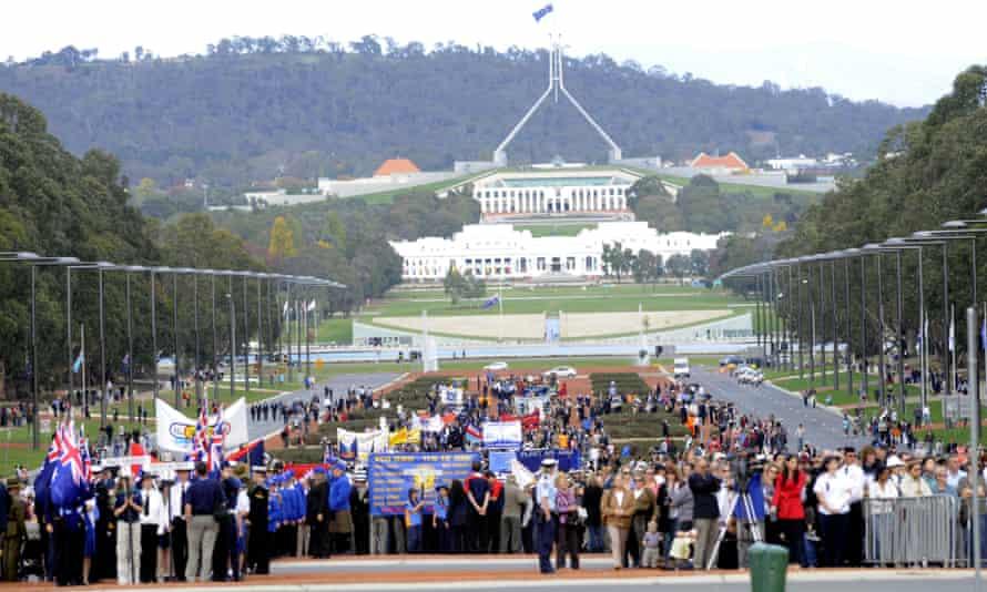 Anzac Parade, Canberra