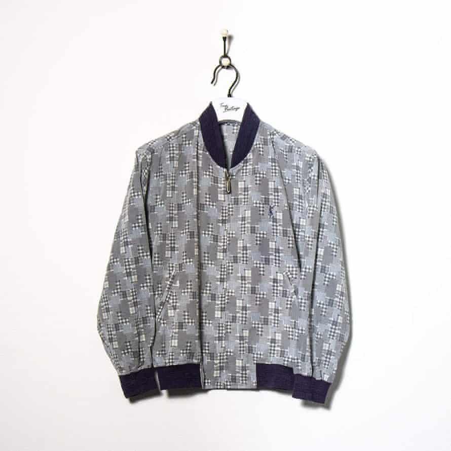 Thrift it Bomber jacket, £88, YSL, truevintage.com