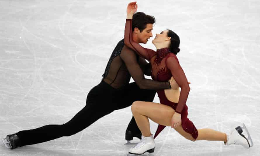 Virtue and Moir perform at the 2018 Winter Olympics: 'I went into the penultimate lift in Pyeongchang and I got chills because I felt the energy and electricity in the building shift'