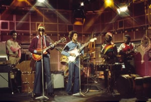 Bob Marley and the Wailers on The Old Grey Whistle Test in 1973.