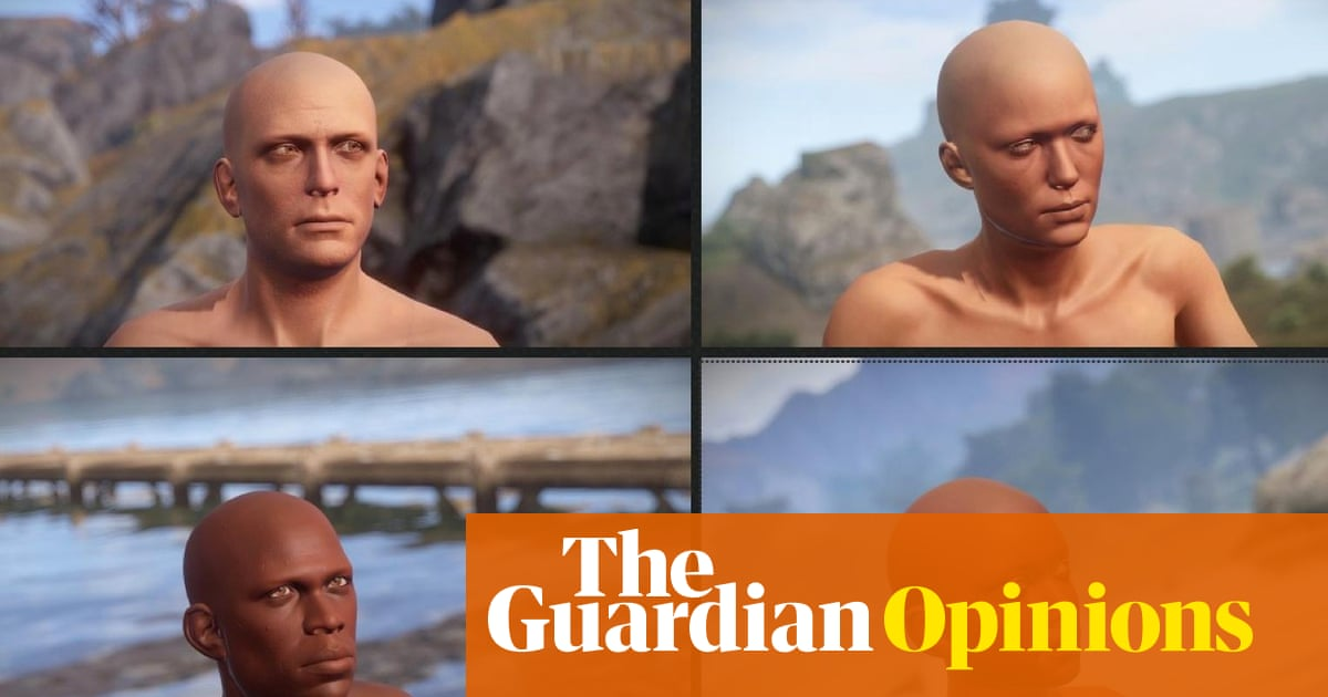 Why my videogame chooses your character's race and gender for you