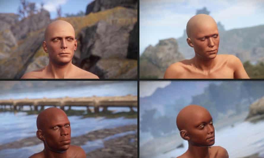 Videogame Rust identity range