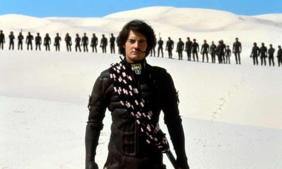 Kyle MacLachlan as Paul Atreides in the 1984 version of Dune, directed by David Lynch.