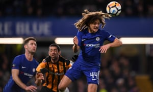 Ethan Ampadu impressed once again for Chelsea in the win over Hull City.
