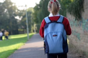 Why it's time for our little girl to walk to school on her