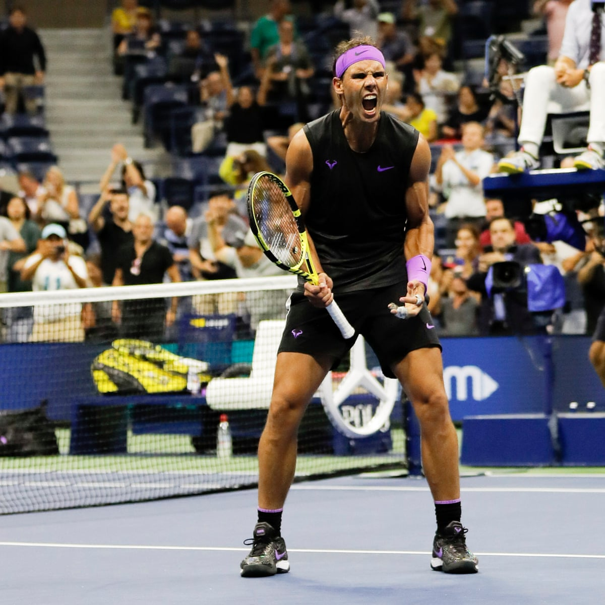 Rafael Nadal Flexes Muscles To Reach Semis And Remain On Course For Fourth Us Open Title Us Open Tennis 2019 The Guardian