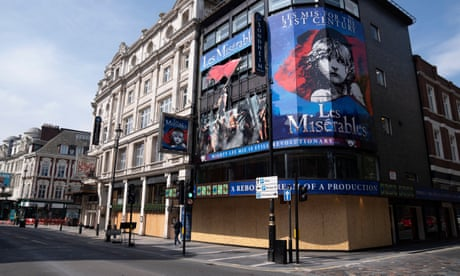 UK theatres in 'high jeopardy' as doors remain closed amid pandemic