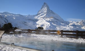 Matterhorn views from Riffelalp Resort, Zermatt