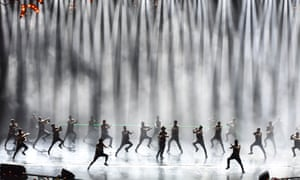 Dancers perform the opening number at last year's IIFA awards.