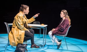 Magnetic spectacle… Olivia Williams and Olivia Colman. All photographs: Tristram Kenton for the Guardian.