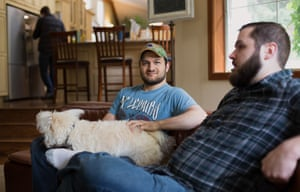 Marshall and Charlie at reSTART, an internet addiction center.