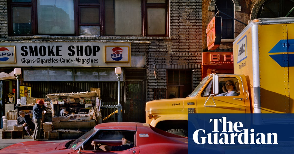 Urban color: New York and Chicago in the 70s and 80s – in