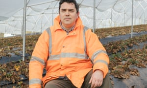 Romanian farm manager Catalin Constandis, 35, says he hasn't employed a British worker for two years.
