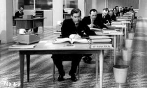 Artful comedy … Tony Hancock in The Rebel (1963). Photograph: Ronald Grant Archive