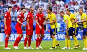 England v Sweden