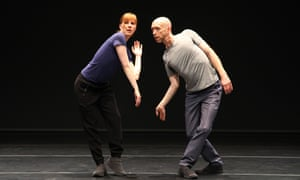 Jill Johnson and Christopher Roman in Catalogue (First Edition) by William Forsythe.