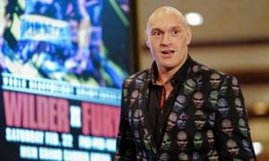 Fury has been typically loud and colourful in the pre-fight press conferences.