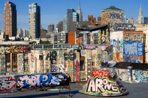 It all started with TAKI 183 … New York rooftops covered in graffiti.